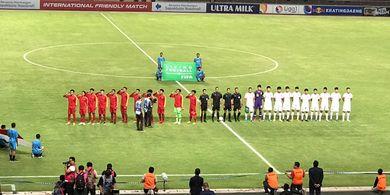 Timnas U-19 Indonesia Tutup Uji Coba Lawan China dengan Kekalahan