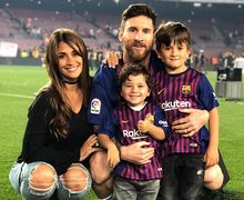 Lionel Messi Suguhkan Pemandangan Indah Setelah Bawa Barcelona Juara Liga Spanyol