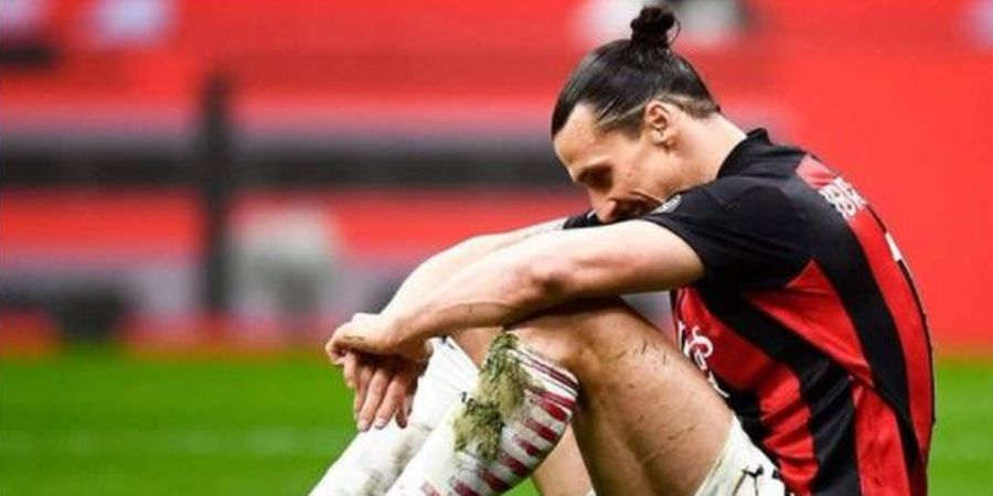 AC Milan Dapat Kabar Buruk soal Zlatan Ibrahimovic Jelang Lawan Torino