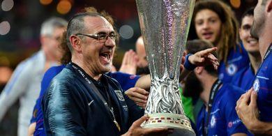 Cuma Semusim di Chelsea, Sarri Dapat Ucapan Perpisahan Lebih Pantas daripada Conte