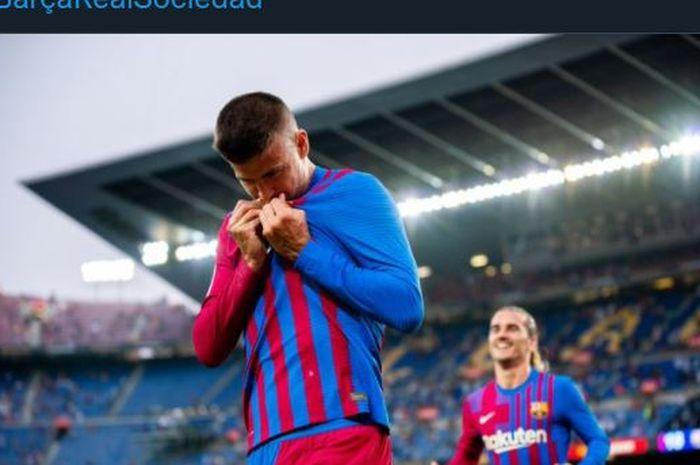 Pelatih Barcelona, Ronald Koeman, menjadikan Gerard Pique sebagai starter dalam laga kontra Cadiz. Apakah Pique akan dipasang sebagai striker lagi?