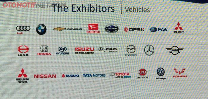 GIIAS akan dihadiri 27 merek otomotif di Indonesia
