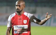 Boaz Solossa Cetak Gol, tapi Kemenangan Persipura Digagalkan Borneo FC