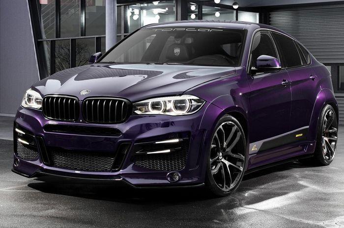 BMW X6 pakai kelir ungu