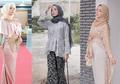 Bergaya Ayu Untuk Kondangan Pakai 7 Baju Brokat ala Selebgram HIjab!