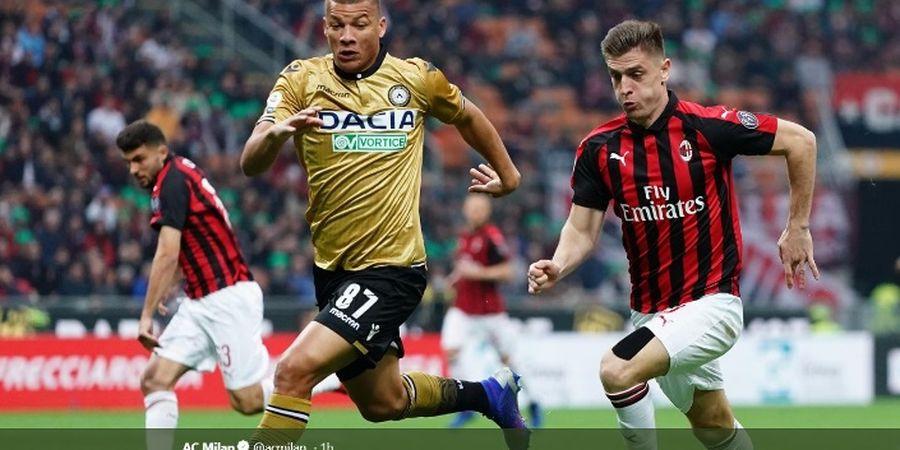 Eksperimen Formasi Dadakan AC Milan Hanya Bertahan Satu Babak
