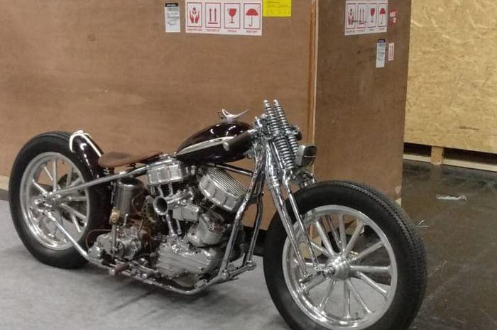 Harley-Davidson kepunyaan Veroland baru mendarat di Jerman