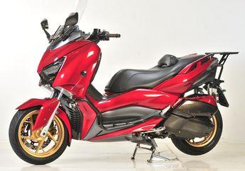 Gara-gara Tersangkut Tambang, Yamaha XMAX 250 Langsung Dimodif Total