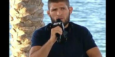 UFC 254 - Khabib Akui Gaethje Setara McGregor, Paling Berbahaya di Ronde Pertama