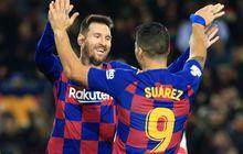 Sejenak Lupakan soal Kontrak, Messi Pilih Liburan bareng Luis Suarez dan Cesc Fabregas di Kapal Pesiar Mewah