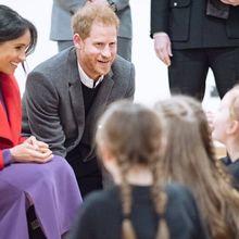 Pangeran Harry Rela Membungkuk Agar Wajahnya Bisa Disentuh Seorang Anak, Kenapa?
