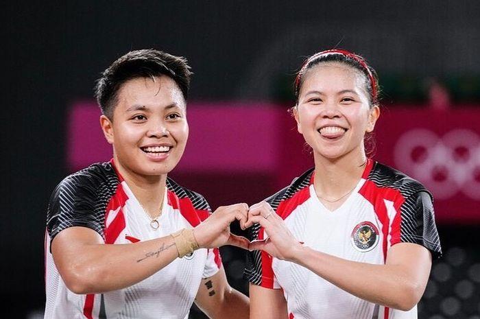 Greysia/Apriyani lolos ke final Olimpiade Tokyo 2020.