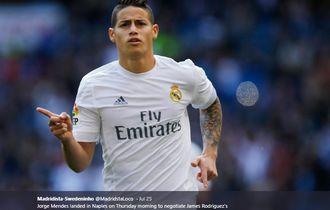 James Rodriguez Mengaku Bertahan di Real Madrid karena Terpaksa