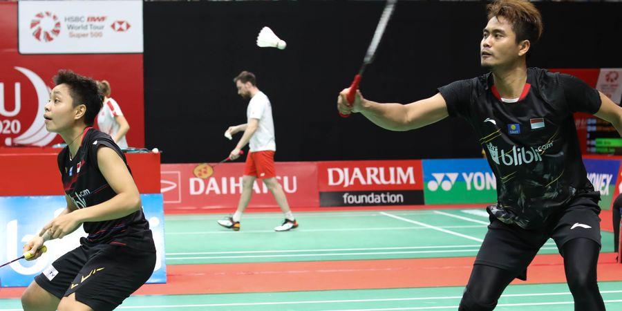 Peringkat Tontowi/Apriyani di Ranking Dunia BWF Usai Debut di Indonesia Masters 2020