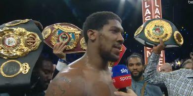 Joshua: Sebut Nama Saya Setelah Wilder dan Fury Kelar Bertarung!