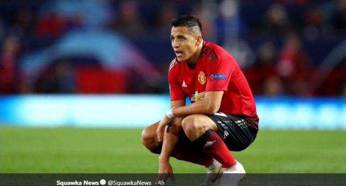 Penyerang Manchester United, Alexis Sanchez masih tampil mengecewakan usai Manchester United kalah dari PSG 0-2 di Old Trafford.