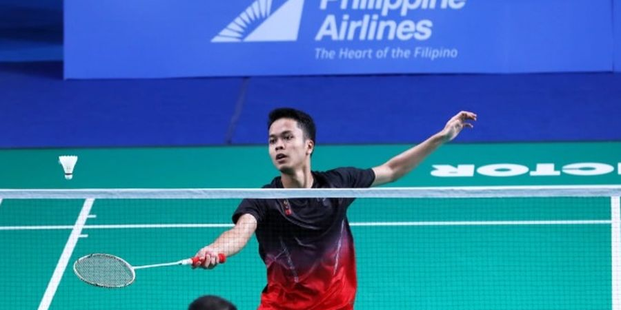 BWF World Tour Finals 2019 - Anthony Akui Keunggulan Lawan di Laga Pertama