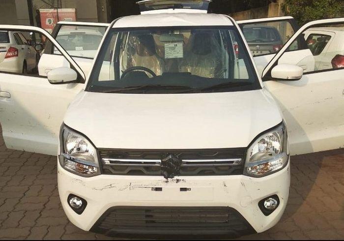 Foto spyshoot fascia Suzuki Wagon R baru
