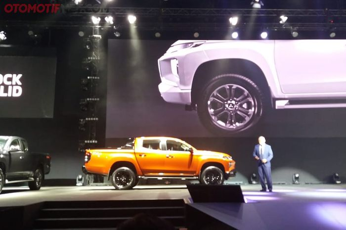 Global Launch Mitsubishi Triton di Bangkok (9/11/2018)