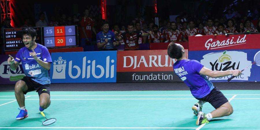 Djarum Superliga Badminton 2019 - Akbar/Berry Jadi Kunci Kemenangan PB Djarum
