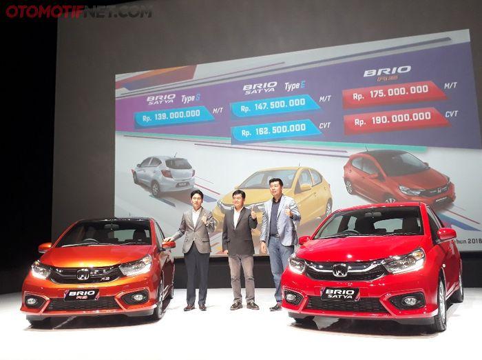Honda resmikan harga All New Brio