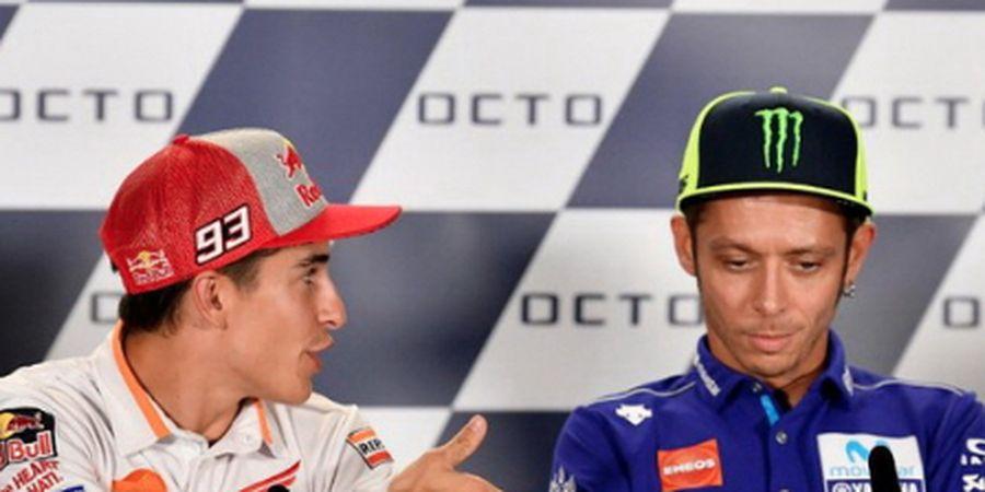 Marc Marquez Silakan 'Ge-er', Valentino Rossi Masih Jagokan Dia Jadi Juara Dunia MotoGP 2022