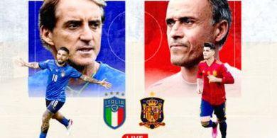 Susunan Pemain Italia Vs Spanyol - Gli Azzurri Tanpa Bek Tercepat, La Furia Roja Tak Dibela Top Scorer