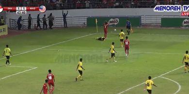 Penuh Ketegangan, Indonesia Ditaklukkan Malaysia di Semifinal ASFC 2019