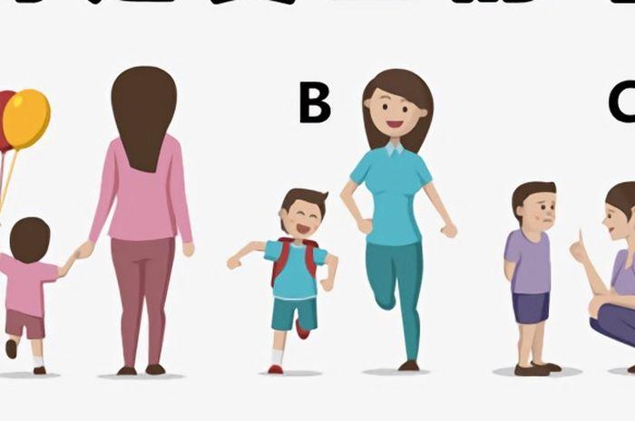 Tebak manakah yang merupakan ibu kandung dari ketiga gambar ini