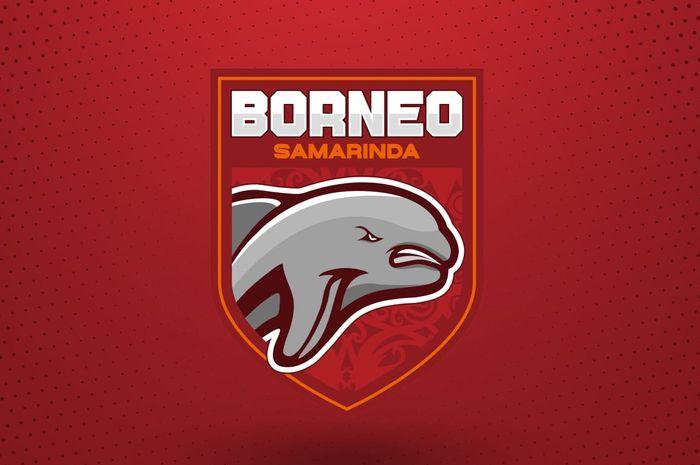 Logo baru Borneo FC yang baru diperkenalkan pada Mingu (7/3/2021)