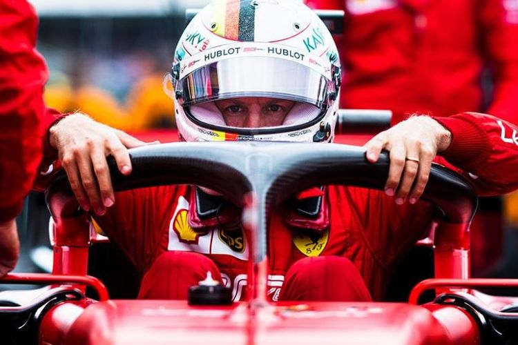 Kebingungan di Jepang, Vettel Minta F1 Kembalikan Chequered Flag