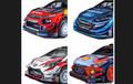 Keren Deh Livery Mobil Reli untuk WRC 2019, Pada Suka yang Mana?