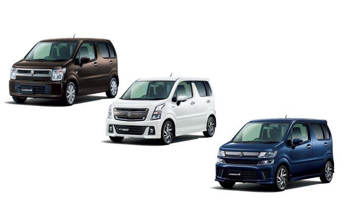 Tiga tipe Wagon R yang beredar di Jepang