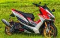 Skutik Gambot Yamaha Bergaya Ducati, Kaki-kakinya Super Mewah