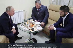 Sebenarnya Presiden Rusia Ingin Menjamu Khabib di Istana, Namun...