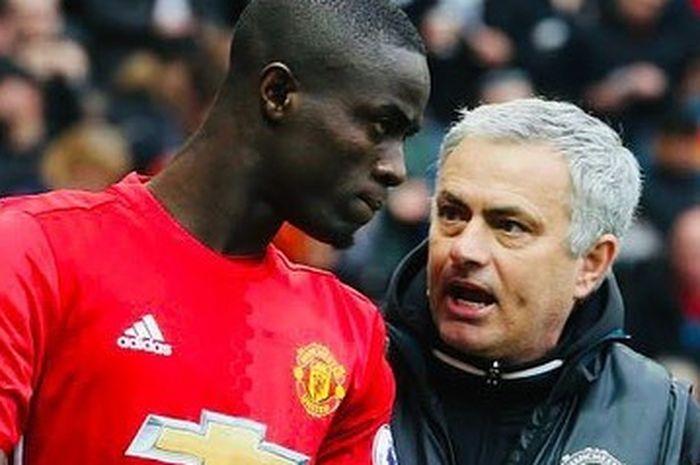 Eric Bailly ucapkan salam perpisahan pada Jose Mourinho