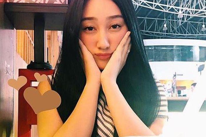 Penampilan Cantik Sandrina Azzahra, mantan peserta IMB yang disebut mirip orang Korea