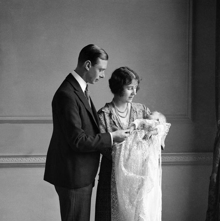 pembaptisan Ratu Elizabeth II