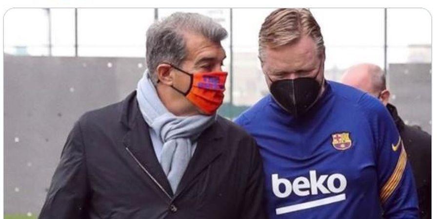 1 Hal yang Bikin Presiden Barcelona Murka kepada Ronald Koeman sampai Tak Ngobrol 2 Jam di Pesawat