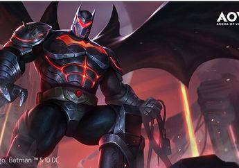 Promo Skin Batman di AOV, Bayar 199 Voucher, Dapat 7 ribu Voucher!