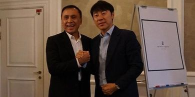 Shin Tae-Yong Merasa Tertantang Melatih Timnas Indonesia