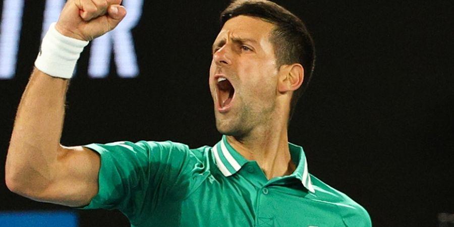 Australian Open 2021 - Baru Babak Ke-3, Novak Djokovic Sudah Main Lebih dari 3 Jam
