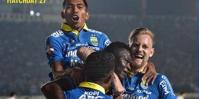 5 Fakta Kemenangan Persib atas  Arema FC, Jebolan SAD Uruguay Starter Pertama Kali