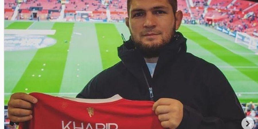 Terpantau Dukung Manchester City Usai Sambangi Old Trafford, Khabib Fans Karbitan?