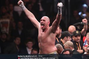 Tyson Fury Tetap Jagokan Conor McGregor untuk Trilogi Lawan Dustin Poirier
