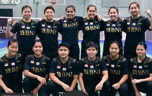 Hasil Undian Perempat Final Uber Cup 2020 - Indonesia Jumpai Thailand, Greysia/Apriyani Diharapkan Turun