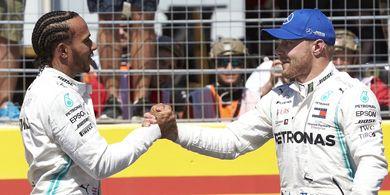 Update Klasemen F1 - Duo Mercedes Masih Kokoh di Puncak Klasmen
