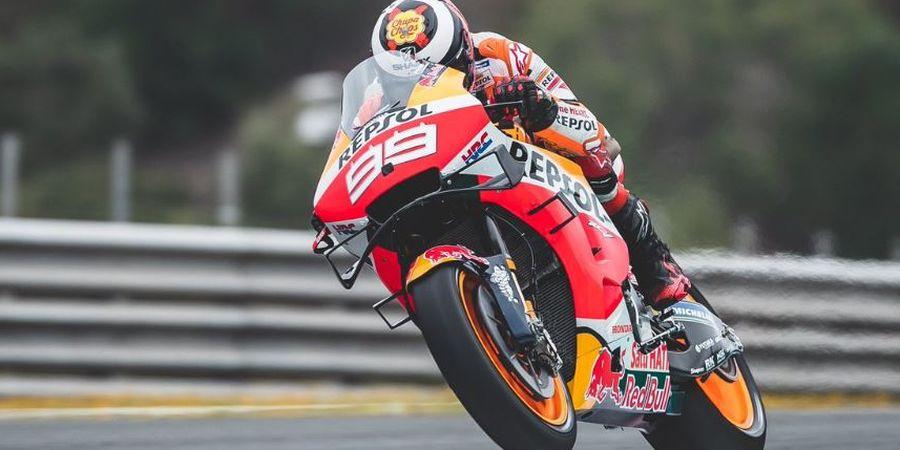 Bukan Masalah Teknis, Repsol Honda Sebut Lorenzo Cuma Kurang Berani