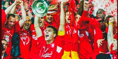 On This Day - Keajaiban Istanbul, Liverpool Tekuk AC Milan di Final Liga Champions 2005