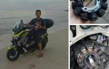 Spul Motor Yamaha NMAX Rusak, Hindari Riding Sampai ke Tepi Pantai